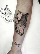 tatuaje barna tattoo lobo barcelona