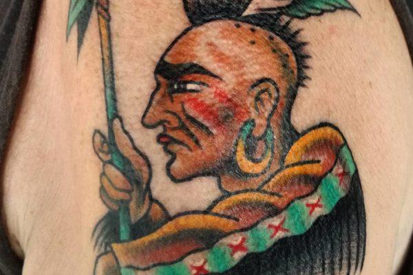 tatuaje old school barcelona 13