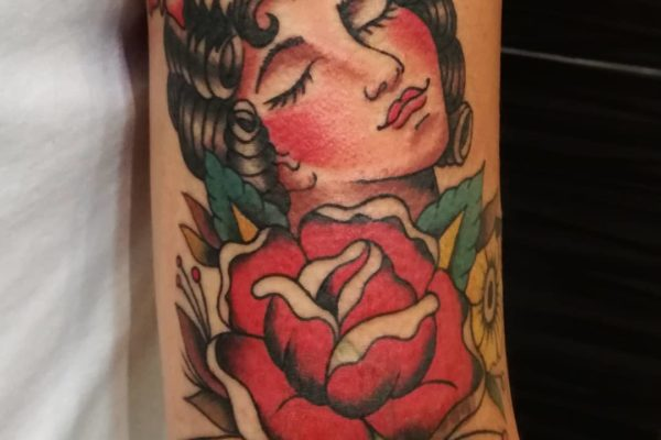 tatuaje old school barcelona 15