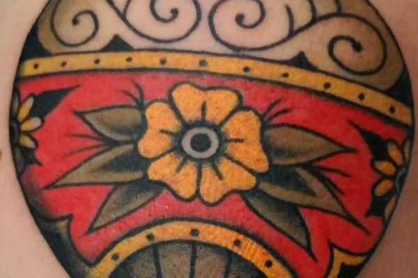 tatuaje old school barcelona 16
