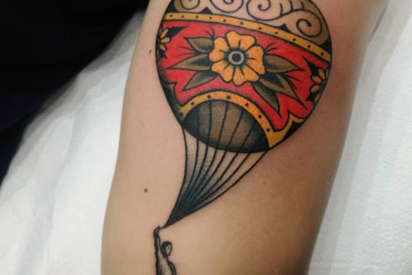 tatuaje old school barcelona 17