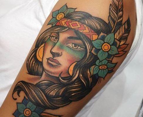 tatuaje old school barcelona 19