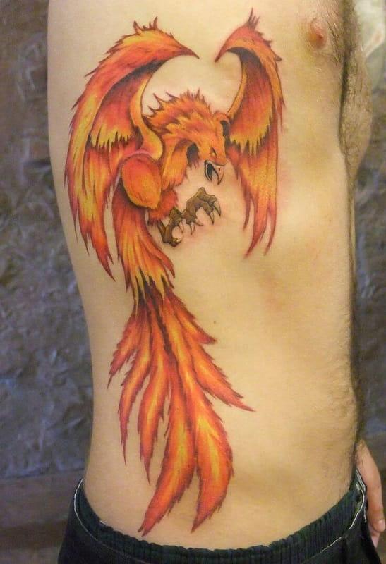 tatuaje ave fenix barna tattoo barcelona