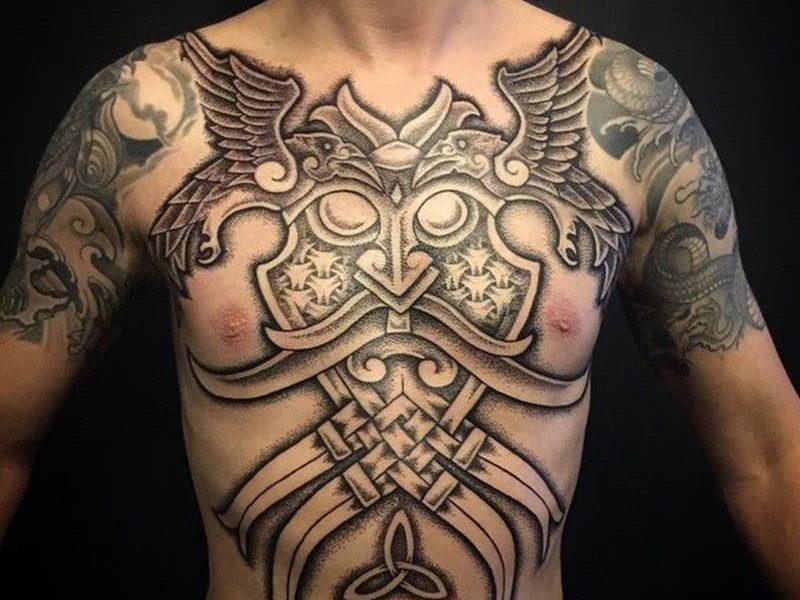 tatuajes vikingos barna tattoo 14