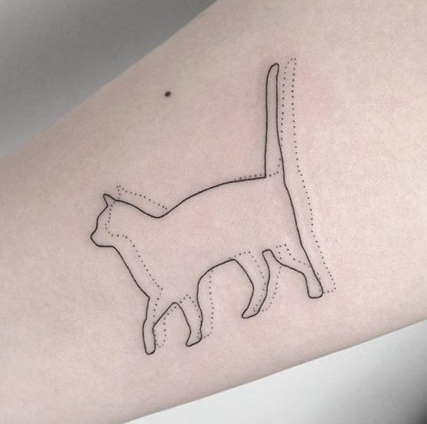 tatuajes de gatos barcelona