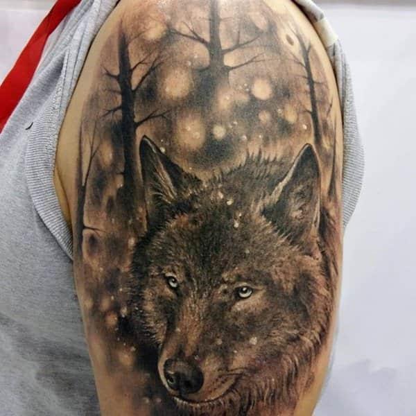 Ideas tatuajes de lobo en Barcelona