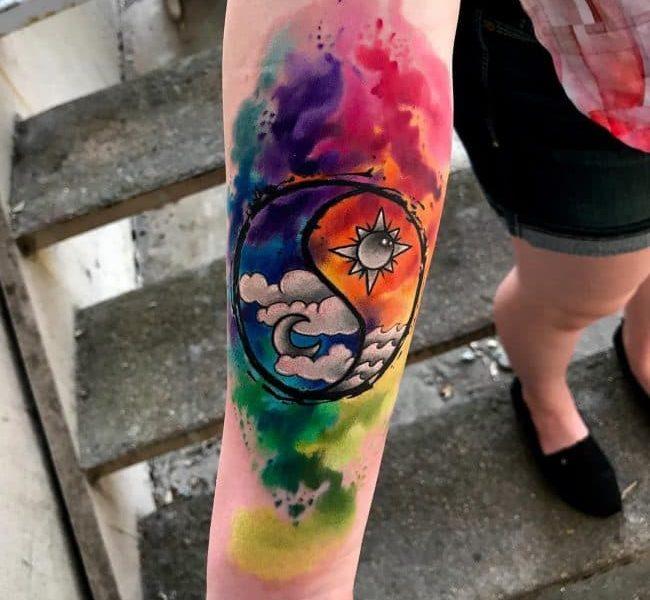 ideas-tatuajes-yin-yang