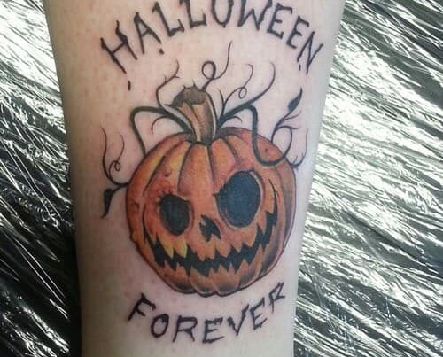 halloween tattoo barcelona forever