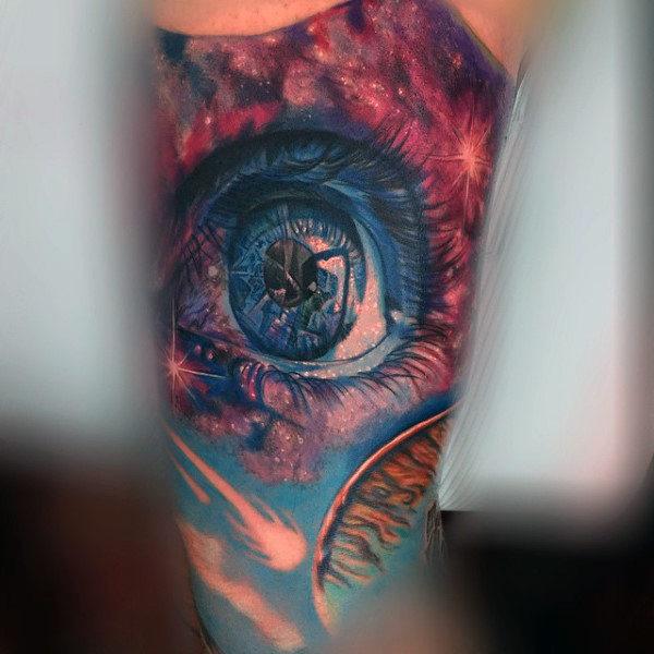 tatuaje del universo