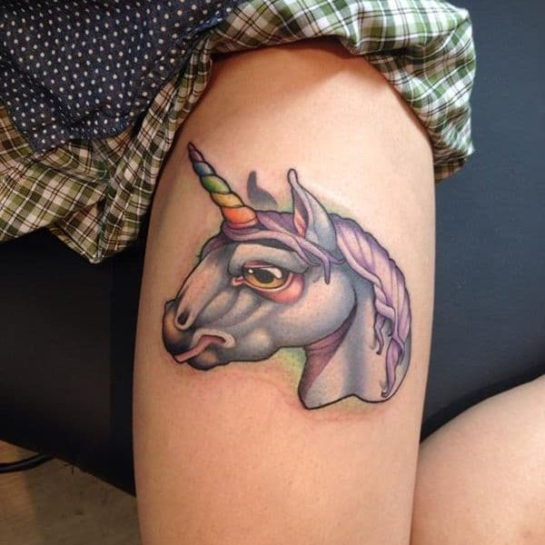 Ideas Tatuajes Unicornio