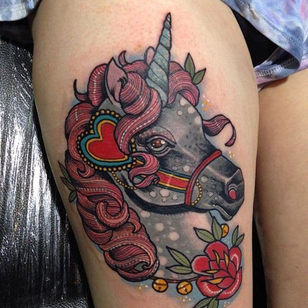ideas-tatuajes-unicornio