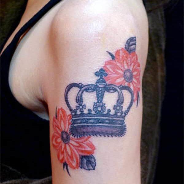 Tatuaje de Corona
