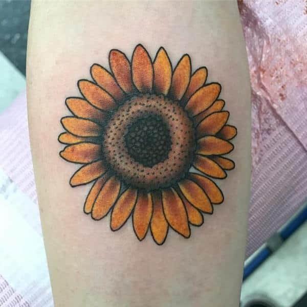 Tatuaje Girasol