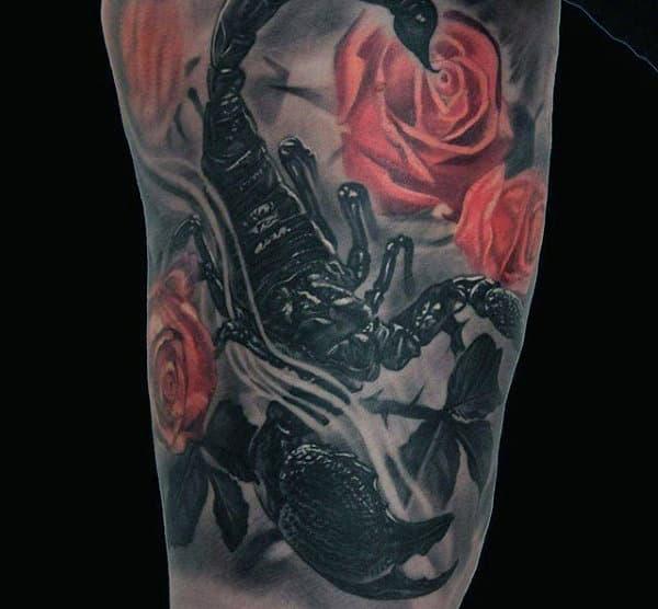 Tatuaje de Escorpión