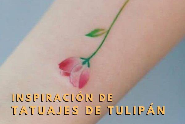 Tatuajes de tulipán