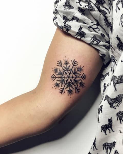 tatuaje-copo-nieve