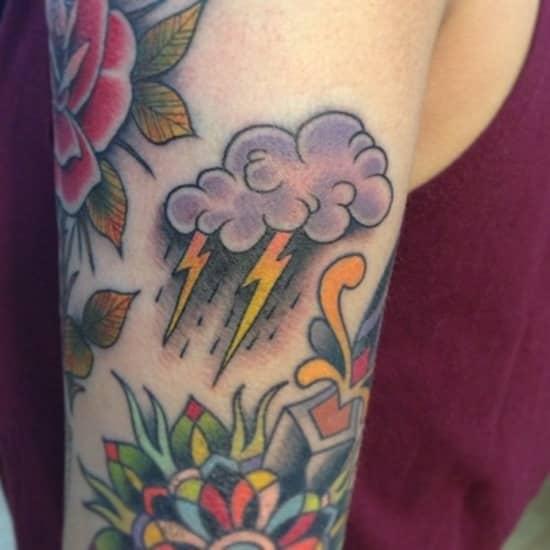 Tatuajes de nube