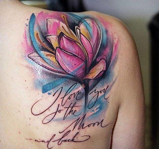 tatuaje-tulipan