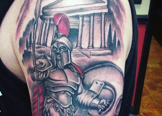 Tatuajes brazo de griegos