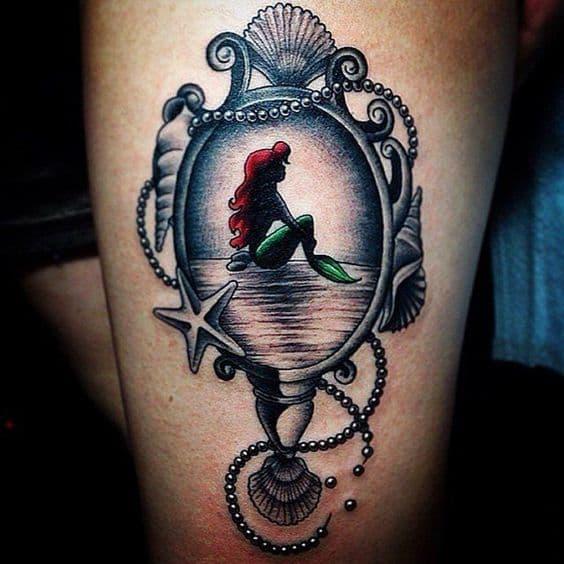 Ideas de tatuajes de sirena