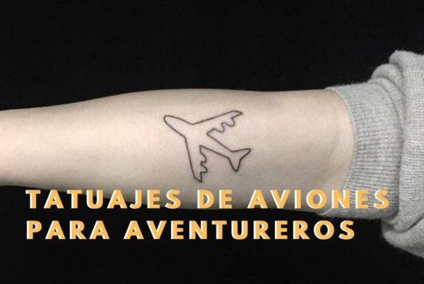 Tatuajes de aviones
