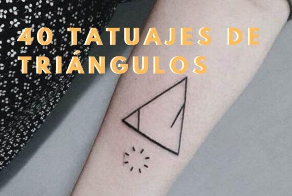 Ideas Tatuajes de triángulos