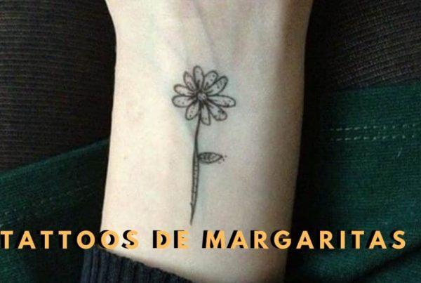 Ideas de Tatuajes de Margaritas