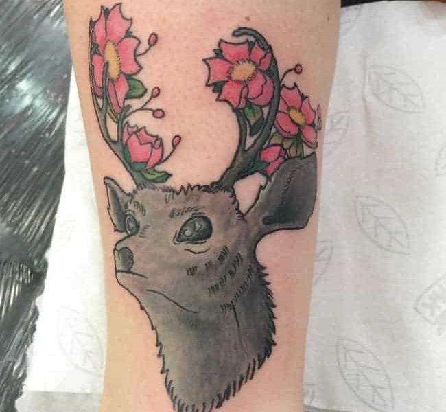 tatuajes-ciervo