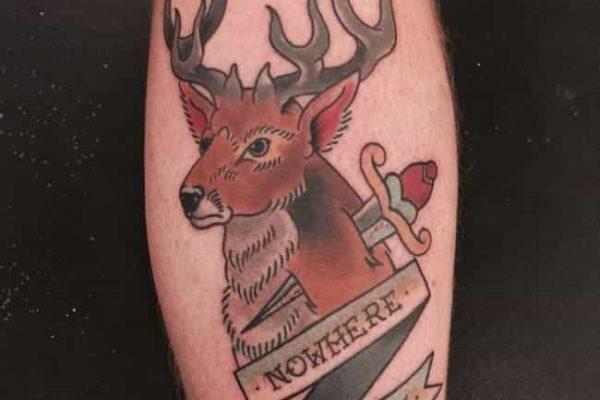 Tatuaje de Ciervo