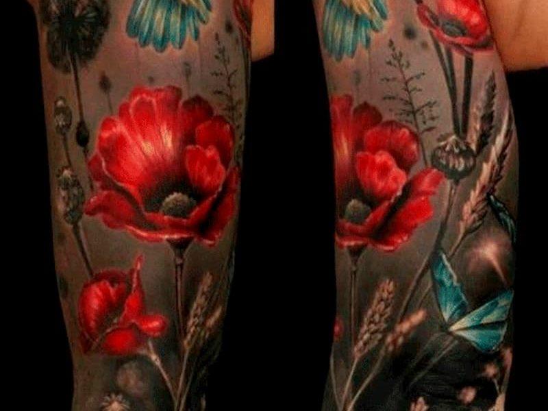 tatuaje amapola (12)