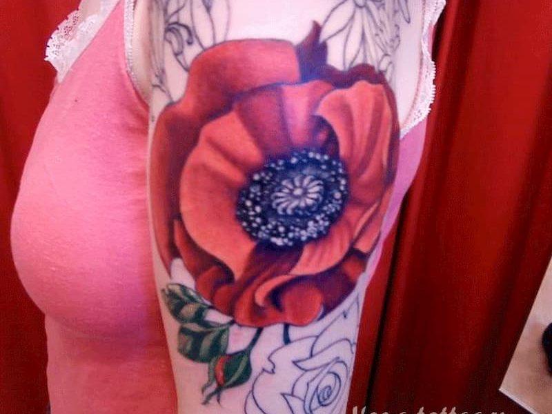 tatuaje amapola (14)
