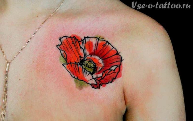 tatuaje amapola (15)