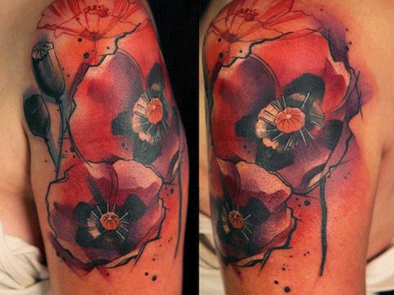 tatuaje amapola (17)