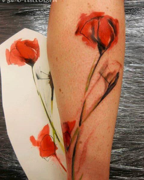 tatuaje amapola (19)