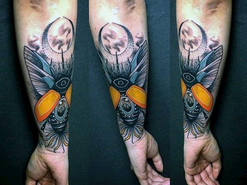 tatuaje escarabajo (18)