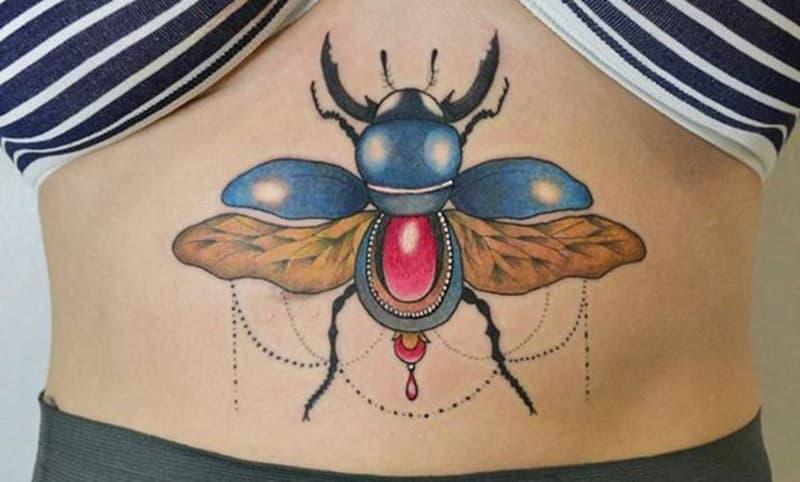 tatuaje escarabajo (29)